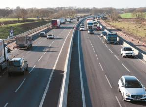 M4 closed between junctions 5 and 6 this weekend