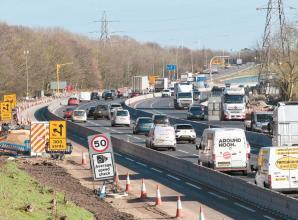 Reaction to Highways England roadworks speed limit change
