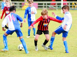 Junior football returns to Cookham