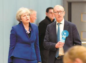 Philip May awarded knighthood