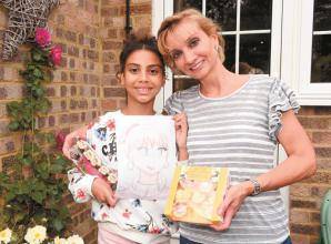 Arty children awarded prizes for Advertiser competition win