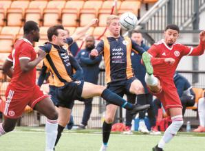 Mixed emotions for Baker after Slough Town's impressive fightback against Welling United