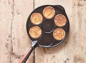 RECIPE: Breakfast pancakes with barley