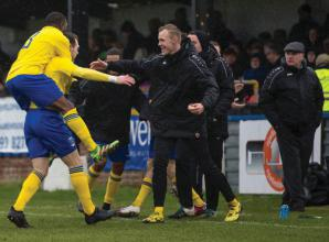 From the Archives: Controversial county derby ends all square