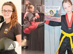 Children raise money for child mental health with martial arts competition