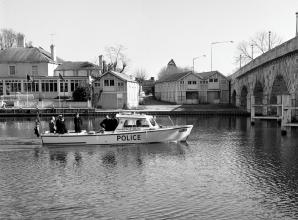 Remember When: Police boat deployed to deal with Maidenhead riverside crime