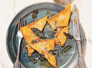 RECIPE: Sweet potato ravioli from The Shortcut Cook by Rosie Reynolds