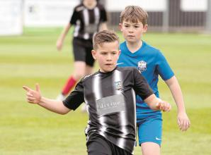 Magpies u12s Stripes round off season with exciting win over Marlow