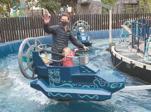 Open a portal to another world at Legoland Windsor Resort's new land Mythica