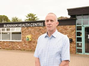 Resident calls for more face-to-face appointments at Burnham Health Centre