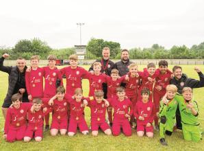 Flackwell Heath Minors u12s 'invincibles' beat Marlow United in League final