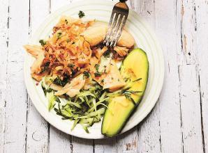 RECIPE: Green banana and saltfish by Vanessa Bolosier