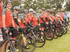 Return of Marlow charity cycle ride raises £12,000 for good causes