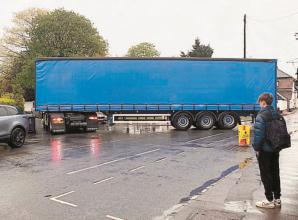 Bray villagers come out in force to call out traffic problems