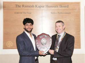 Rising cricket star benefits from Rotarian's legacy
