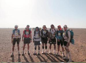 Pearce and Islam represent MAC with pride in the Marathon des Sables