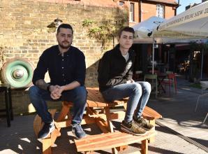 Windsor pub 'gutted' after having valuable signs stolen from garden