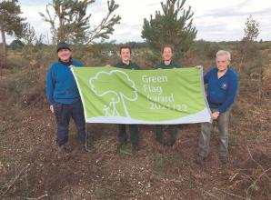 Burnham Beeches receives prestigious Green Flag Award