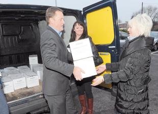 Cracker cash and turkeys given to worthy causes