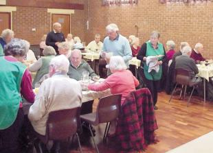 Cox Green club enjoys turkey lunch thanks to Cracker Appeal