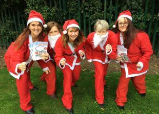 Alexander Devine charity prepares for annual Santa Dash