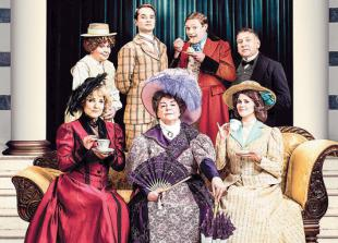 Handbags, gladrags and gags in this delicious comedy confection