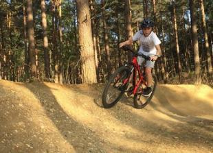 Mountain biking in Swinley Forest