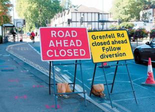 Town centre works to 'potentially' continue until December