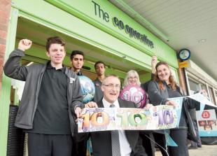 Co-op anniversary community day showcases charities' work