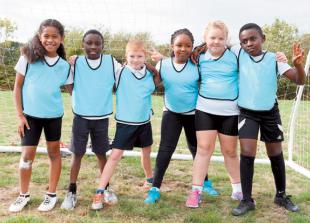 In pictures: Year three and four teams battle it out in football tournament