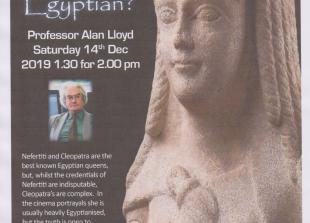 Egyptology Lecture (TVAES December 2019)