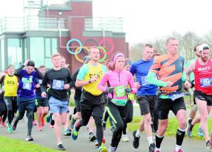 700 people join the Winter Windsor Half Marathon