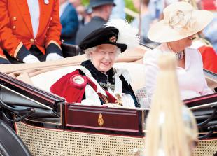 The Queen to view 'small, brief' military ceremony for official birthday