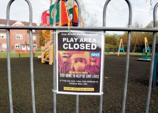 Councillor asks Government to review playground openings during lockdown