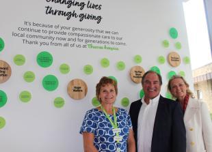 South Bucks entrepreneur donates £25,000 to Thames Hospice