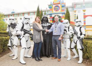 Legoland makes donation to Alexander Devine charity