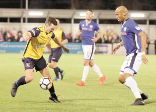 Underwood says final score inFA Cup defeat to Rochdale was harsh on Slough Town