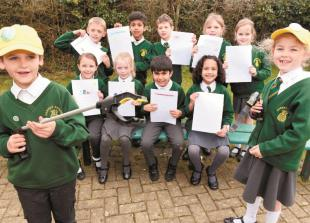 Dorney pupils concerned about litter write to district council