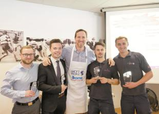 Will Greenwood thanks McFT staff after completing Arctic trek