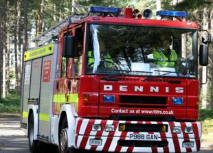Firefighters attend air conditioning unit leaking gas in Burnham Beeches
