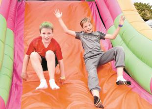 Summer barbecue raises funds for Playground4Dorney