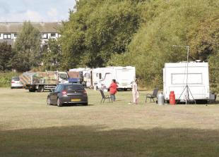 Council 'liaising with police' over travellers on Town Moor
