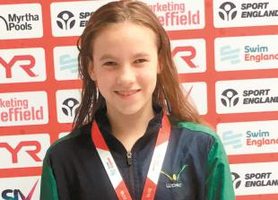 Five podiums for para-swimmer Katie Crowhurst