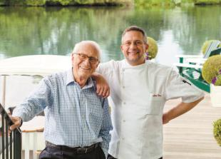 Michel and Alain Roux prepare to open Skindles restaurant