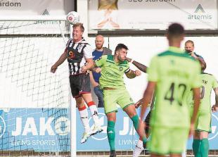 Massey hails'best 45 minutes of the season' as Maidenhead United rout FC Halifax Town