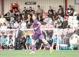 Lock hopes Bird willtake flight for the Magpies after scoring first goal
