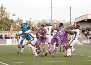 Devonshire hoping'best competition in the world' will be Maidenhead United's springboard
