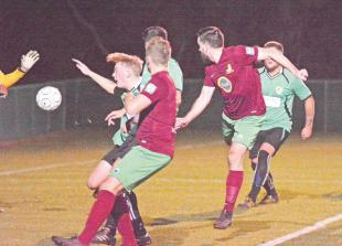 Sweetman encouraged by Holyport's FA Vase efforts but wary of tough tests ahead