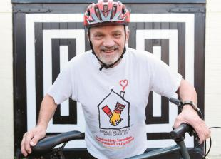 Fundraiser takes on final challenge to cycle across the Andes