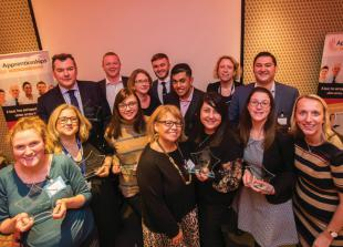 Apprenticeships in the spotlight at inaugural awards ceremony